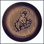 Christ Child Collector Plate by E. A. Babka
