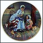 Betsy Ross Collector Plate by Gene Boyer