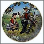 Buffalo Bill Collector Plate by Gene Boyer