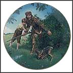 Davy Crockett Collector Plate by Gene Boyer