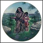 Sacajawea Collector Plate by Gene Boyer