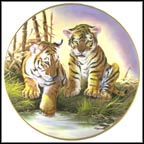 Tamar's Cubs Collector Plate by Douglas Van Howd MAIN