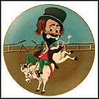 Bronco Freddie Collector Plate by Red Skelton MAIN