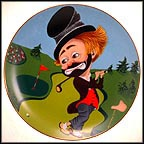 Freddie On The Green Collector Plate by Red Skelton