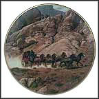 Under Surveillance Collector Plate by Frank McCarthy MAIN