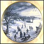 First Freeze Collector Plate by Rob Sauber