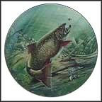 Brook Trout Collector Plate by John Eggert