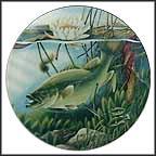 Largemouth Bass Collector Plate by John Eggert