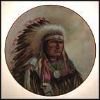 Strength Of The Sioux Collector Plate by Gregory Perillo