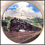 The Capitol Limited Collector Plate by Jim Deneen