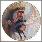 The Arapaho Nation Collector Plate by Gregory Perillo