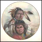The Blackfoot Nation Collector Plate by Gregory Perillo