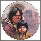The Cheyenne Nation Collector Plate by Gregory Perillo