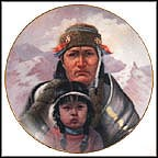The Chippewa Nation Collector Plate by Gregory Perillo