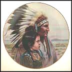The Crow Nation Collector Plate by Gregory Perillo