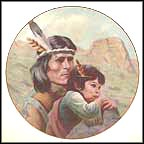The Kiowa Nation Collector Plate by Gregory Perillo