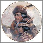 The Nez Perce Nation Collector Plate by Gregory Perillo
