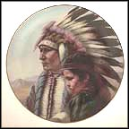 The Sioux Nation Collector Plate by Gregory Perillo