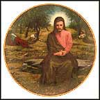 The Agony In The Garden Collector Plate by Lou Marchetti MAIN
