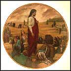 The Sermon On The Mount Collector Plate by Lou Marchetti MAIN