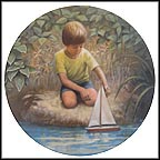 Row, Row, Row Your Boat Collector Plate by Hector Garrido