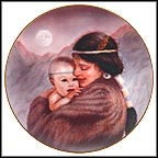 Moonlight Collector Plate by Gregory Perillo