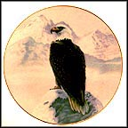 American Bald Eagle Collector Plate by Gregory Perillo