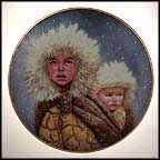 Christmas Journey Collector Plate by Gregory Perillo