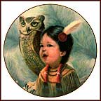 Small And Wise Collector Plate by Gregory Perillo MAIN