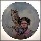 Loyal Guardian Collector Plate by Gregory Perillo