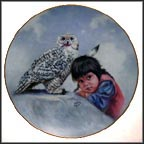 Watchful Eyes Collector Plate by Gregory Perillo