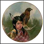 Woodland Scouts Collector Plate by Gregory Perillo
