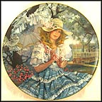 Oh Susannah - artist signed Collector Plate by Rob Sauber