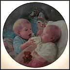 Christopher And Kate Collector Plate by MaGo