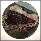 Homeward Bound Collector Plate by Jim Deneen