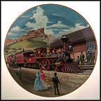 Midday Stop Collector Plate by Jim Deneen