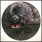 Round The Bend Collector Plate by Jim Deneen