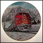 Traveling In Style Collector Plate by Jim Deneen