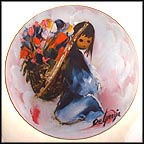 Beautiful Burden Collector Plate by Ted DeGrazia