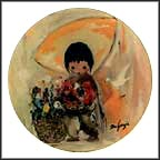 The Gentle White Dove Collector Plate by Ted DeGrazia