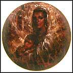 Colima Madonna Collector Plate by Don Ruffin