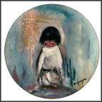Blue Boy Collector Plate by Ted DeGrazia