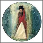 Navajo Madonna Collector Plate by Ted DeGrazia