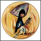 My First Horse Collector Plate by Ted DeGrazia