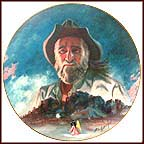 De Grazia And His Mountain Collector Plate by Larry Toschik
