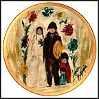 The Wedding Party Collector Plate by Ted DeGrazia MAIN
