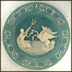 Poseidon Collector Plate by Gregg Appleby MAIN