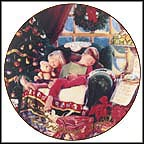 Christmas Dreams Collector Plate by Mike Wimmer
