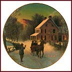 Home For The Holidays Collector Plate
