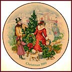 Bringing Christmas Home Collector Plate